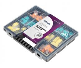 Assortiment de bornes rapides pour connexions électriques (109 pcs) - Orno