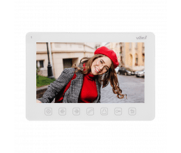 Moniteur pour système de vidéophonie Vibell version blanc - Vibell