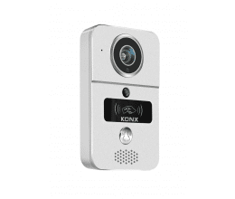 [RECONDITIONNÉ] Portier vidéo 720p Wi-Fi, détecteur de mouvement, lecteur RFID - Konx