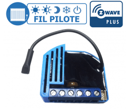 [RECONDITIONNE] Module Fil Pilote encastrable Z-Wave Plus - QUBINO
