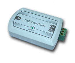 Relais pilotable par port USB dans boitier ABS