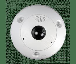 Caméra IP 12 Mpx avec rectification ePTZ et objectif Fisheye - Safire
