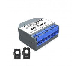 Ampèremètre Wi-Fi avec 2 pinces 50A et 120A - Shelly