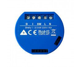 Micromodule 1 relais Wi-Fi encastrable - Shelly