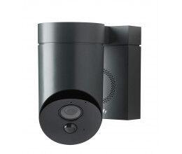 Caméra de surveillance extérieure grise - Somfy