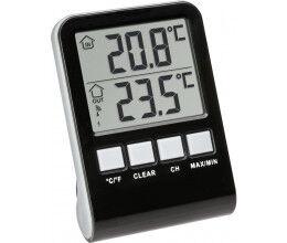 Capteur de température radio 433 Mhz pour piscine avec afficheur LCD - TFA