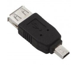 Changeur de genre Mini USB vers USB - Wizelec