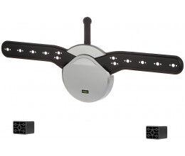 Support extra fin pour écran tv et moniteur jusqu'à 40kg - Wizelec