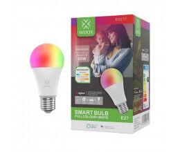 Ampoule connectée Zigbee E27 RGB compatible Amazon Alexa et Google Assistant - WOOX