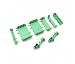 Boîtier Rail DIN pour carte relais 8 entrées/sorties Ethernet - WiFiPower