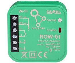 Module 1 relais 5A encastrable WiFi  gamme Supla - Zamel