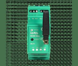 Module 4 relais 5A WiFi  format RAIL DIN gamme Supla - Zamel