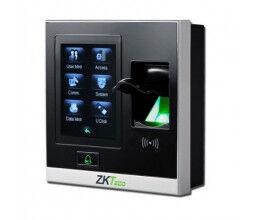 Lecteur biométrique IP avec écran tactile et entrées auxiliaires - ZKTeco