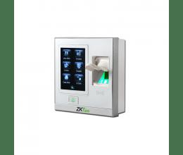 Lecteur biométrique IP avec écran tactile et entrées auxiliaires couleur blanc - ZKTeco