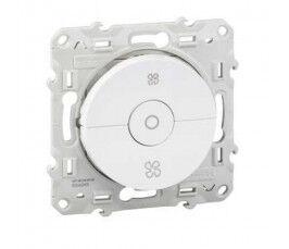 Interrupteur 3 boutons pour VMC couleur blanc gamme ODACE - Schneider